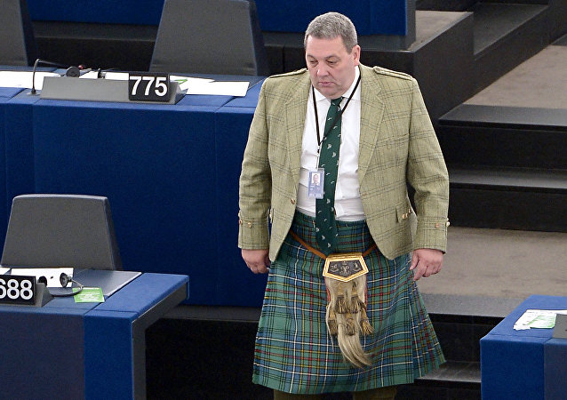 Scottish UKIP member of the European parliament David Coburn (File)