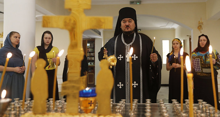 Orthodox church in Sharjah, in the United Arab Emirates (File)