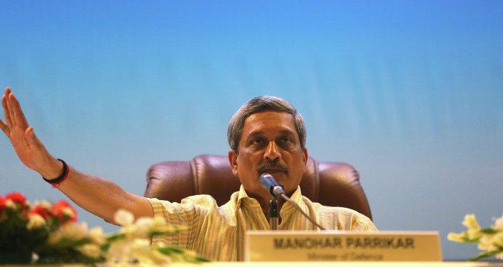 Defense Minister of India Manohar Parrikar