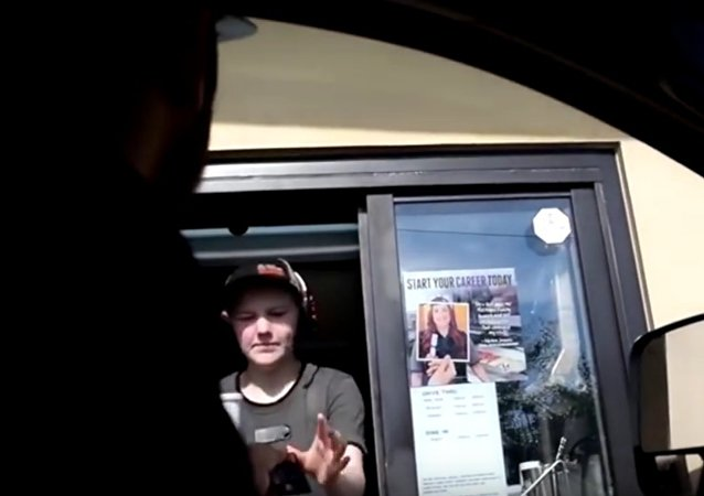 Sweet revenge in McDonald's drive thru