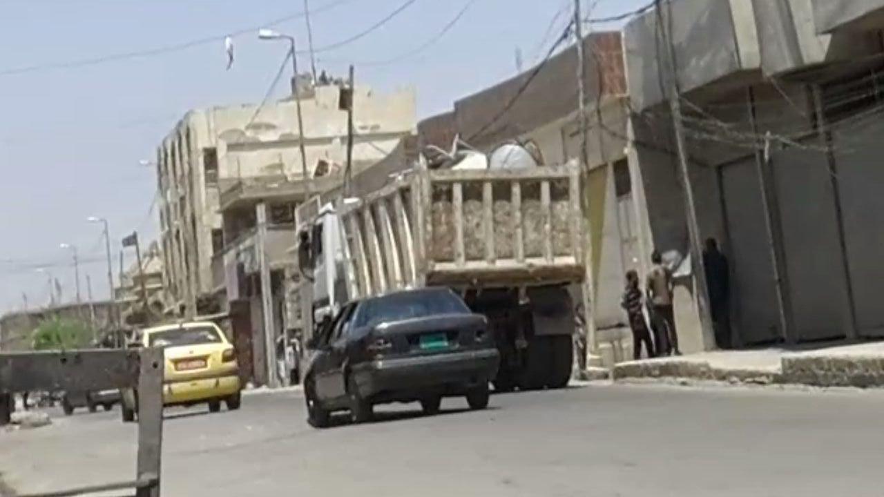 TV antennas, Mosul
