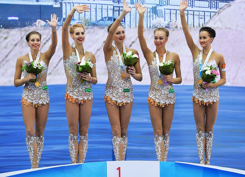 The Highlights of 2016 Rhythmic Gymnastics World Cup Series in Russia