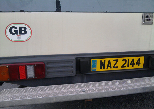 GB licence plates need changing as EU markings still remain in place