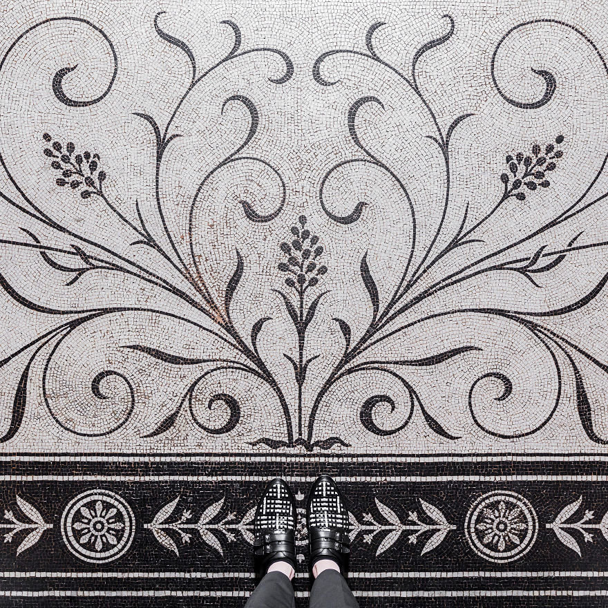 Watch Your Step! The Stunning Beauty Of London Floors