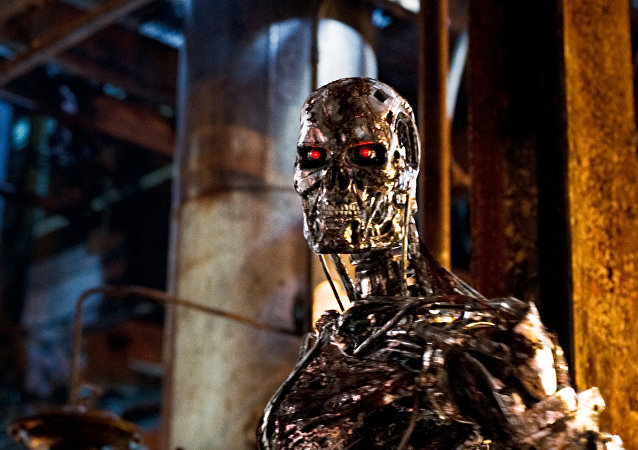 A still from the Terminator Salvation film