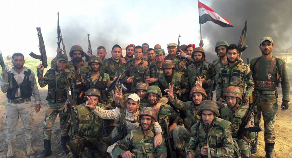 The Syrian army