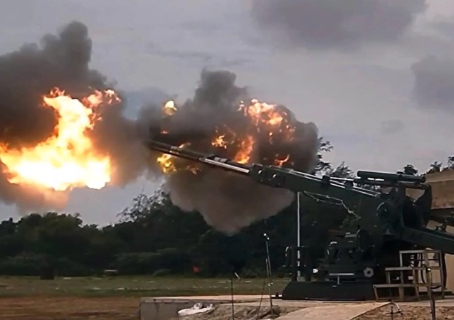 India's armament system for the 155mmx52 caliber Advanced Towed Artillery Gun System (ATAGS) - the country's first fully domestically designed and developed gun system.