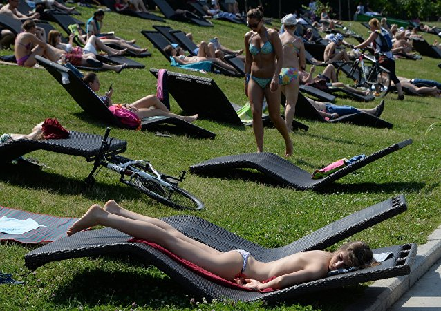 Heatwave in Moscow