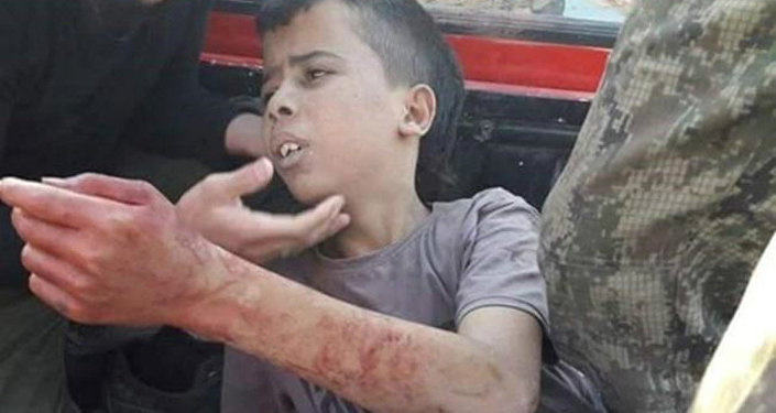 Syrian rebel group had decapitated a 12-year-old Palestinian kid
