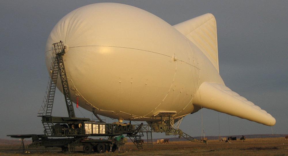 Mobile Aerostatic Complex 'Peresvet'