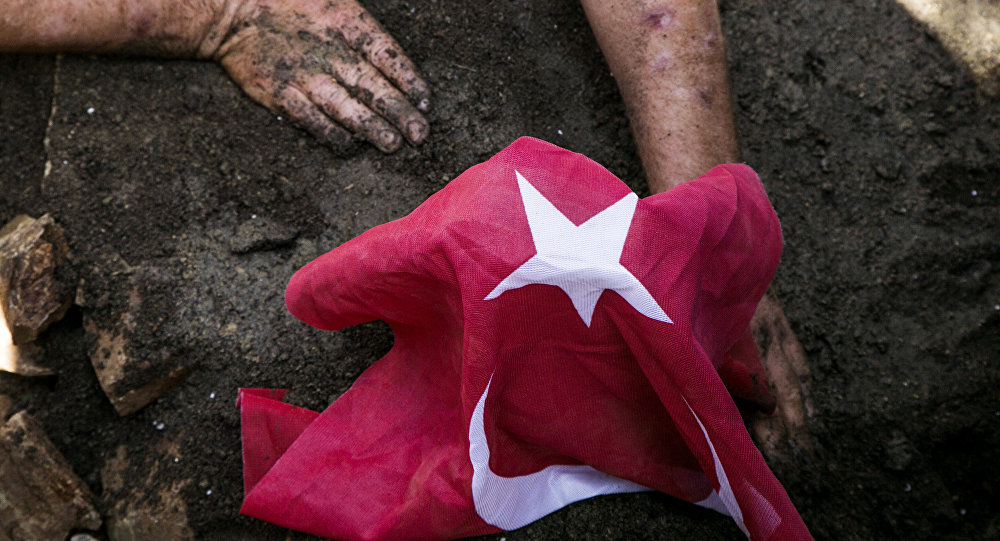 Turkey coup victim funeral