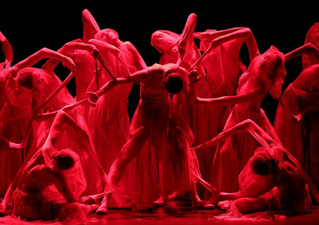 Charity preview of Red Giselle ballet of Boris Eifman Ballet Theatre
