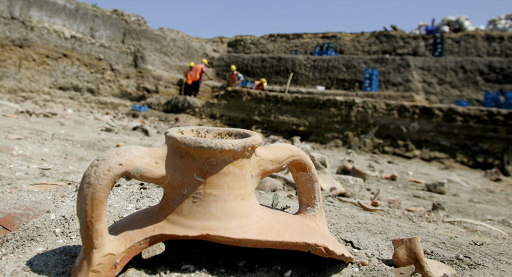 Archaeological site in Turkey. File photo