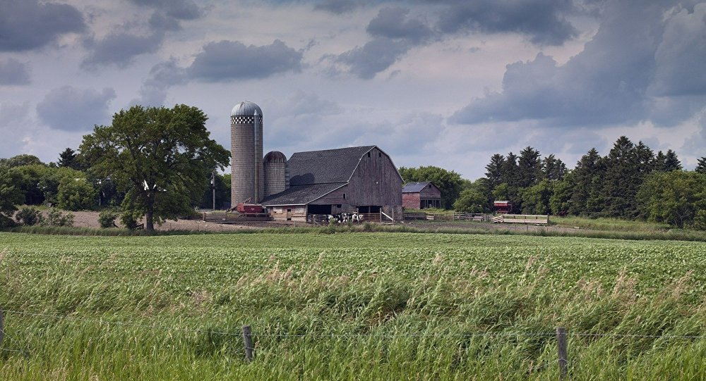 A farm in the US