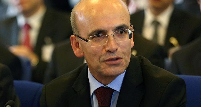 Turkish Deputy Prime Minister Mehmet Simsek. File photo