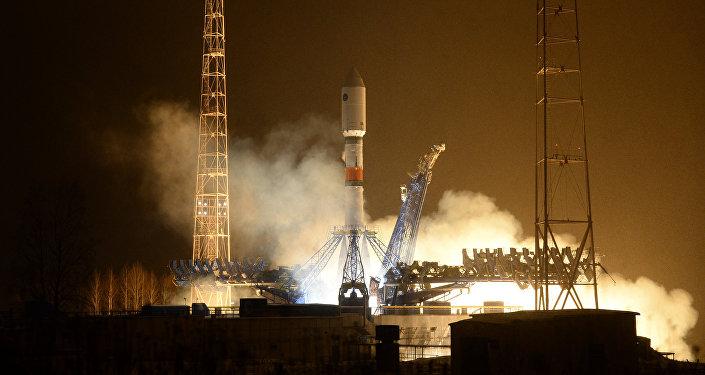 Launch of rocket carrier Soyuz-2.1b. File photo