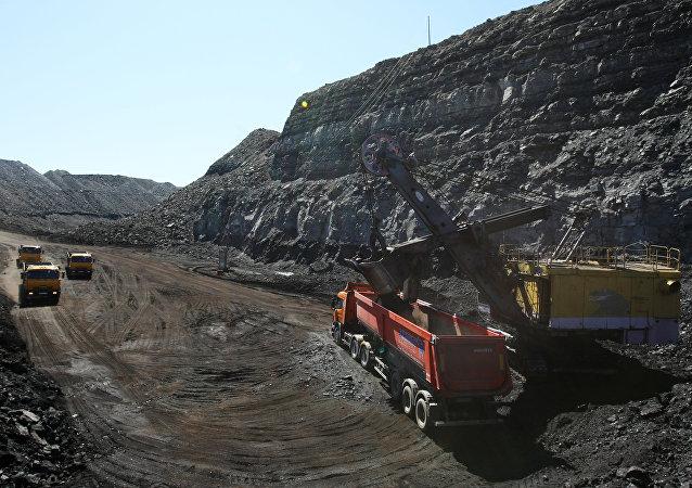 Kaa-Khemsky open pit of OOO Tuvinskaya Gornorudnaya Kompaniya