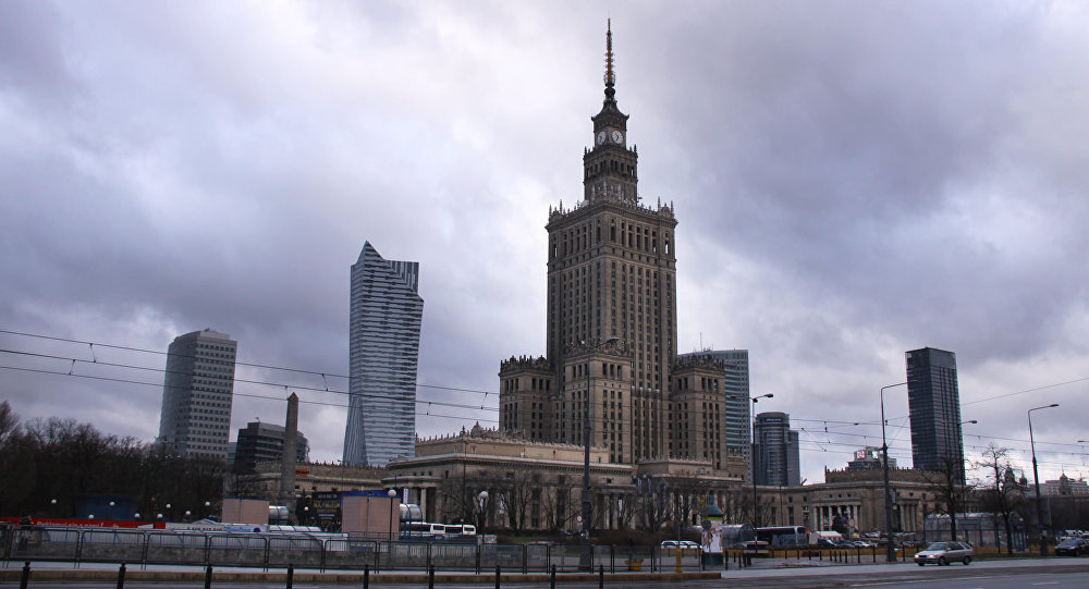 Palace of Culture and Science. Warsaw