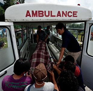 Nepal  Ambulance. (File)