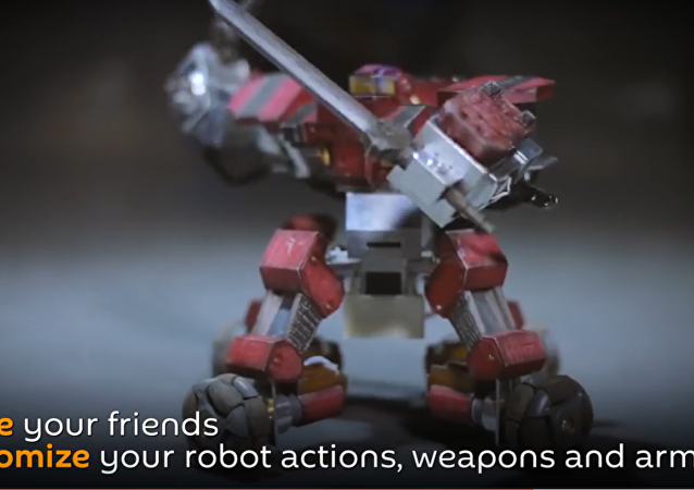 Real Steel: Meet the Ganker Personal Fighting Robot