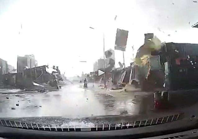 Possible Tornado Rips Through Industrial Zone in Northern Vietnam