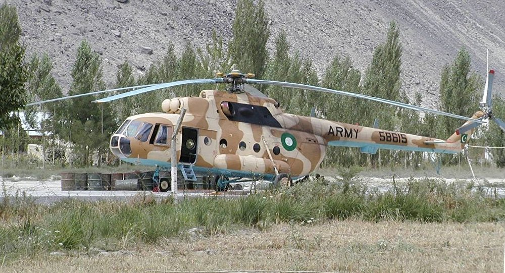 Pakistan Army Mi-17