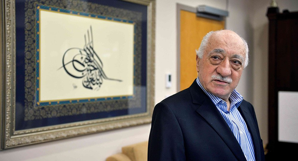 US based cleric Fethullah Gulen at his home in Saylorsburg, Pennsylvania