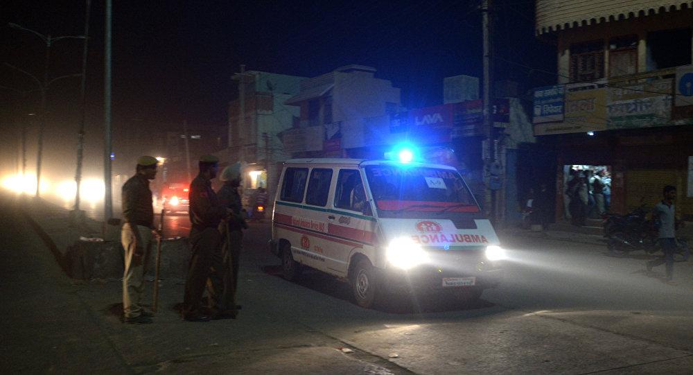 Indian  ambulance (File)