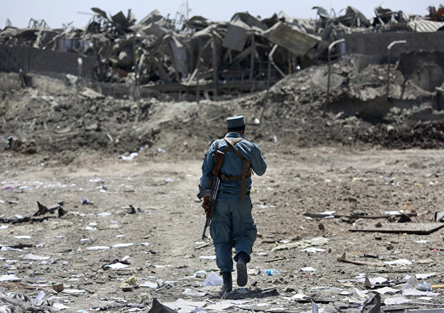At least 40 Taliban militants were killed and 45 were wounded as a result of an airstrike in Afghanistan's southern Helmand province, local media reported Tuesday.