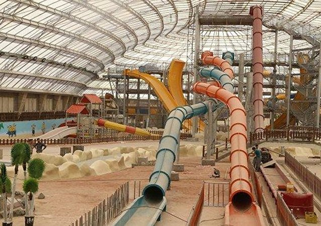 Water park opened in Iran's religious center