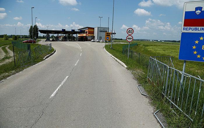 Grenze Kroatien