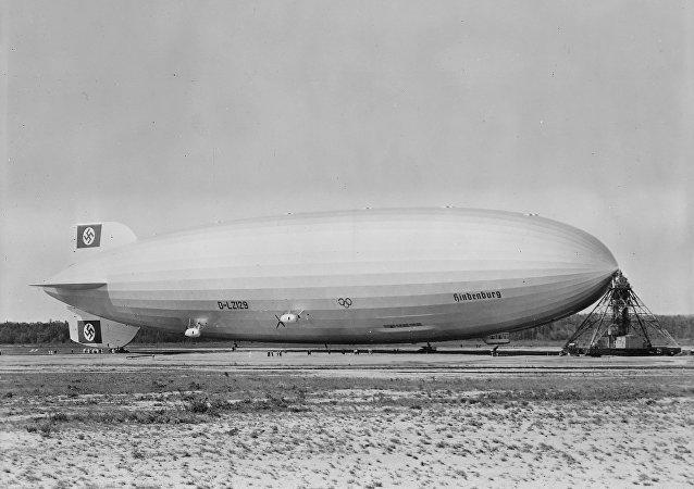 The Hindenburg airship