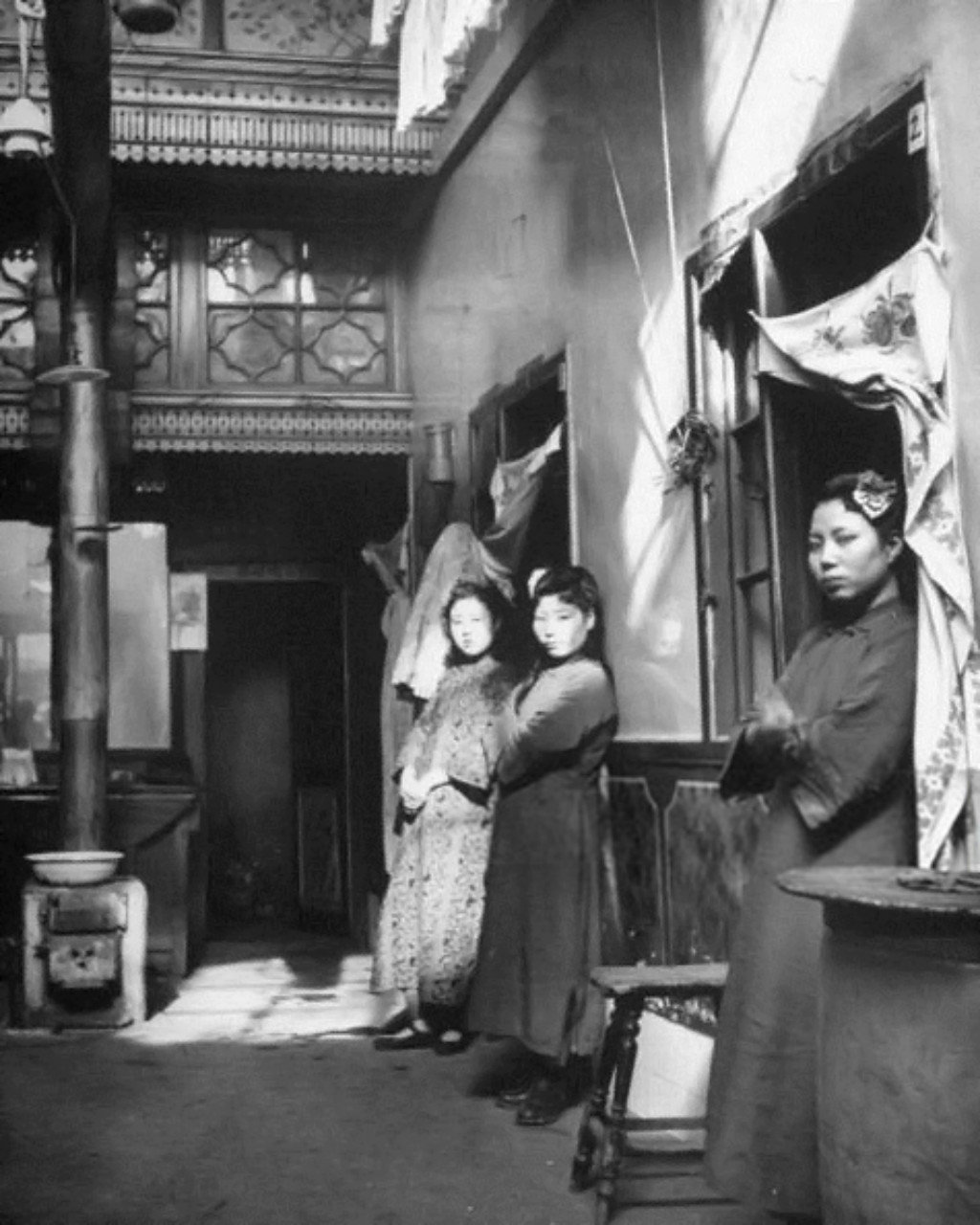 Chinese prostitutes 1946