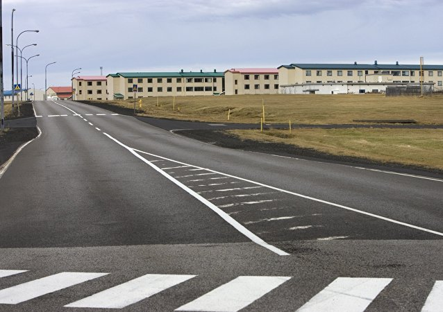 General view of a former US naval air base and hospital in Keflavik, Iceland (File)