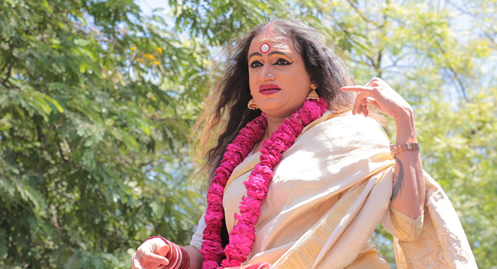 Transgender activist Laxmi Narayan Tripathi