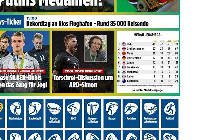 Screenshot of www.bild.de