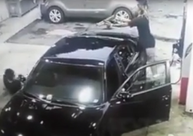 WATCH: Wild Shootout at Atlanta Gas Station Captured in Shocking Video