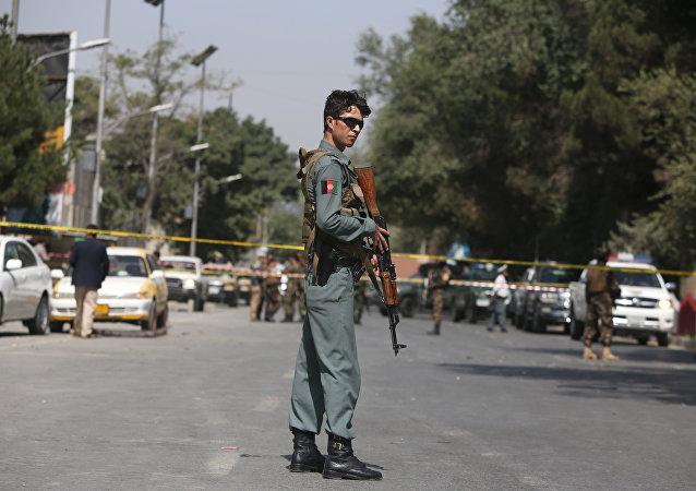 Afghan policeman. (File)