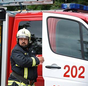 Emergencies Ministry worker