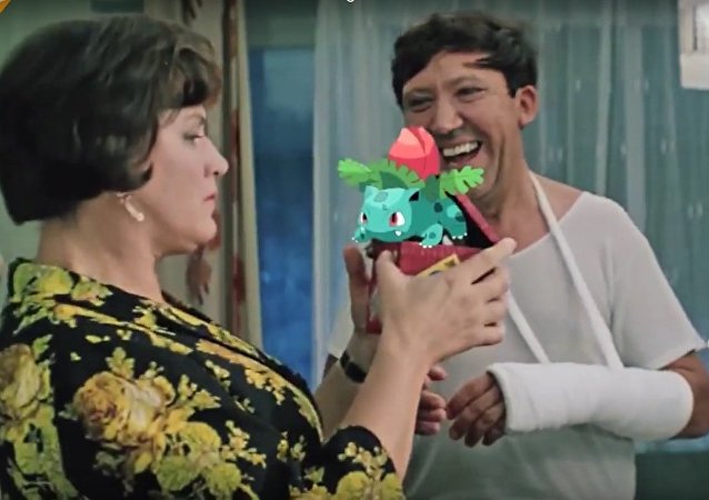 Pokemon GO-es USSR: Soviet Movie Characters Catching Pikachu & the Others