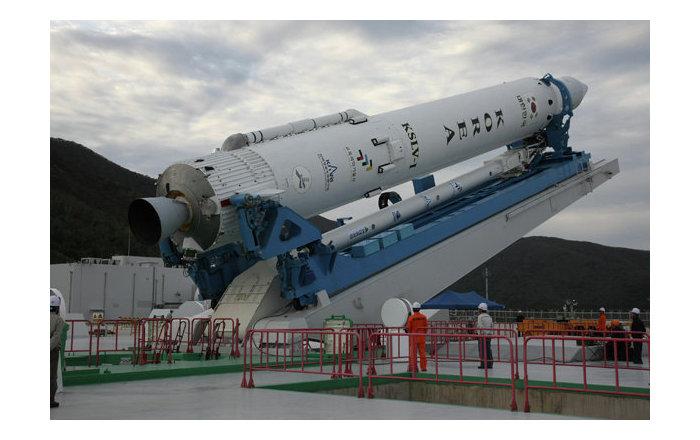 S. Korea Carrier Rocket Launch Canceled