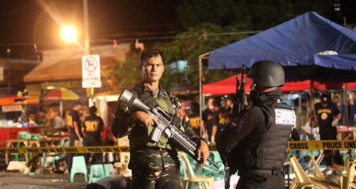 Bombing in Davao, Philippines