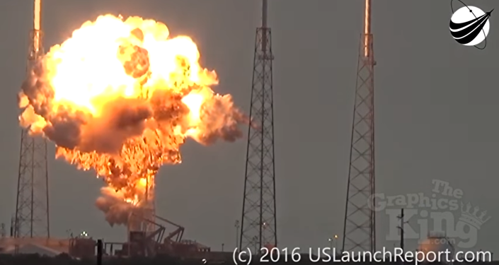 Space X explosion
