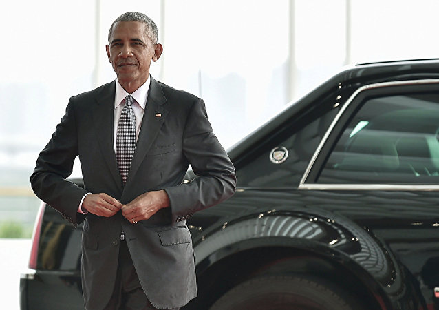 US President Barack Obama arrives to attend the G20 Summit in Hangzhou, Zhejiang province, China, September 4, 2016