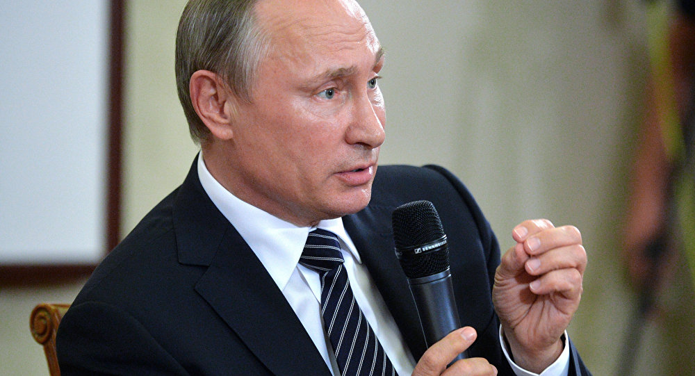 Vladimir Putin Speaks to Journalists Following G20 Summit...