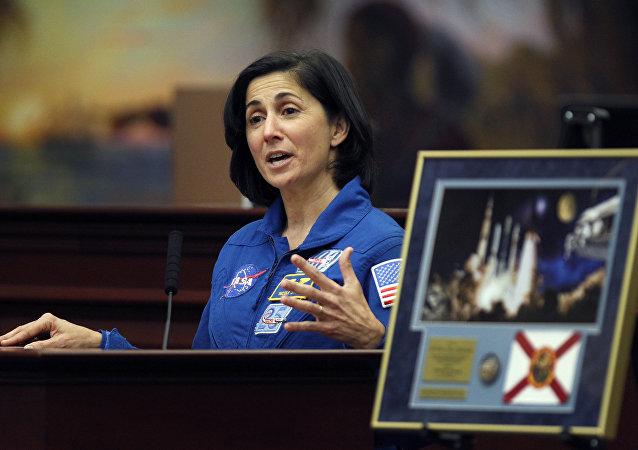 NASA astronaut Nicole Stott. File photo