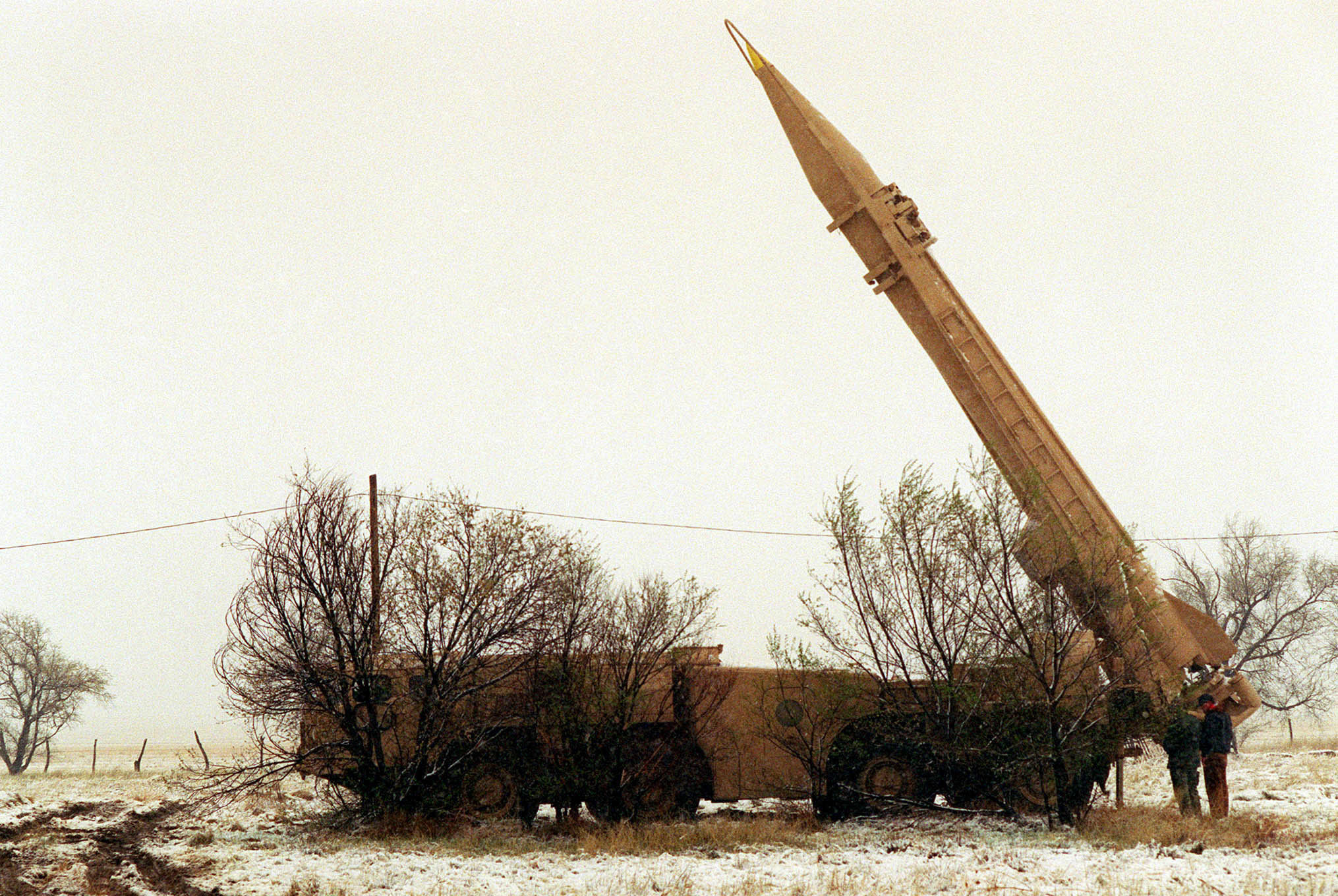 A Scud missile. File photo