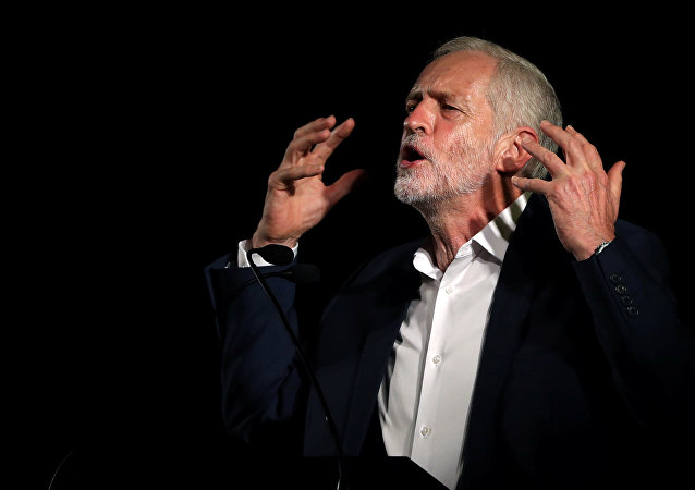 Britain's Labour leader Jeremy Corbyn speaks at a rally in Glasgow, Scotland, August 25, 2016.