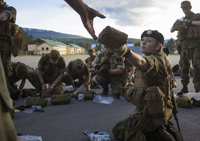 First Female Recruits of Norway's Army