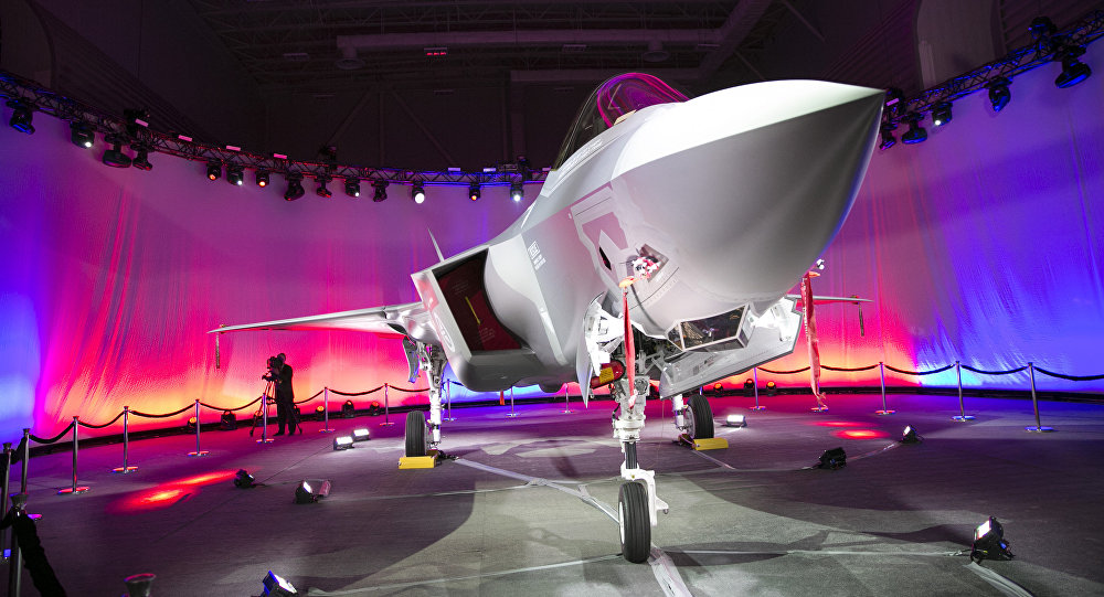 First Norwegian Armed Forces Lockheed Martin F-35A Lightning II, known as AM-1 Joint Strike Jet Fighter, is unveiled during the rollout celebration at Lockheed Martin production facility in Fort Worth, TX